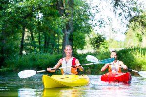 Les moments favorables pour faire du canoë en Ardèche