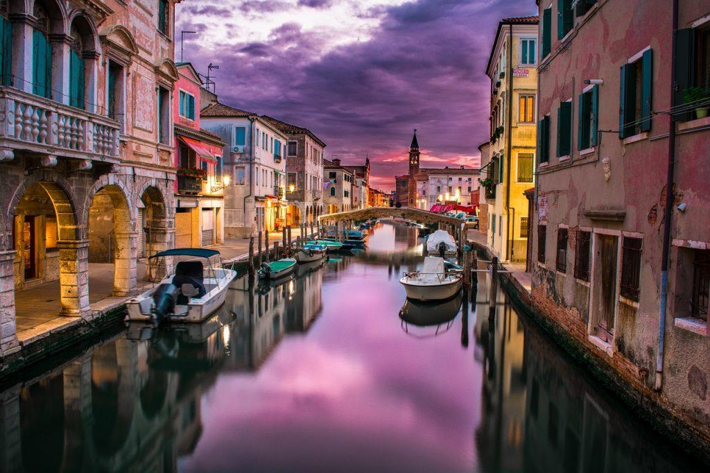 Partir en voyage de noces à Venise